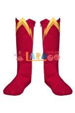 画像9: フラッシュ シーズン6 バリー・アレン The Flash Season 6 Barry Allen 修正版 ブーツ付き コスプレ衣装 コスチューム cosplay (9)