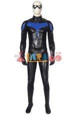 画像2: タイタンズ シーズン1 ナイトウィング ディック・グレイソン Titans Season 1 Nightwing Dick Grayson ブーツ付き コスプレ衣装 コスチューム ゲーム cosplay (2)