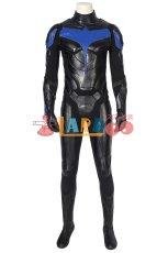 画像3: タイタンズ シーズン1 ナイトウィング ディック・グレイソン Titans Season 1 Nightwing Dick Grayson ブーツ付き コスプレ衣装 コスチューム ゲーム cosplay (3)