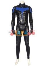 画像4: タイタンズ シーズン1 ナイトウィング ディック・グレイソン Titans Season 1 Nightwing Dick Grayson ブーツ付き コスプレ衣装 コスチューム ゲーム cosplay (4)