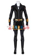 画像2: ブラック・ウィドウ ナターシャ・ロマノフ Black Widow Natasha Romanoff suit ブーツ付き コスプレ衣装  2020映画 コスチューム cosplay (2)