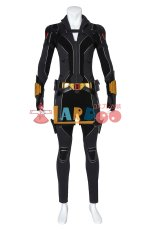 画像4: ブラック・ウィドウ ナターシャ・ロマノフ Black Widow Natasha Romanoff suit ブーツ付き コスプレ衣装  2020映画 コスチューム cosplay (4)
