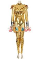 画像1: ワンダーウーマン ダイアナ Wonder Woman 1984 Diana Prince ゴールデンバトルスーツ コスプレ衣装 コスチューム ゲーム cosplay (1)