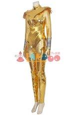 画像2: ワンダーウーマン ダイアナ Wonder Woman 1984 Diana Prince ゴールデンバトルスーツ コスプレ衣装 コスチューム ゲーム cosplay (2)