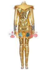 画像4: ワンダーウーマン ダイアナ Wonder Woman 1984 Diana Prince ゴールデンバトルスーツ コスプレ衣装 コスチューム ゲーム cosplay (4)