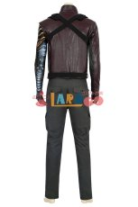 画像7: ファルコン&ウィンター・ ソルジャー バッキー バーンズ The Falcon and the Winter Soldier Winter Soldier Bucky Barnes ブーツ付き コスプレ衣装 コスチューム ゲーム cosplay (7)