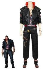 画像1: サイバーパンク2077 ジャッキー cyberpunk 2077 jackie コスプレ衣装 コスチューム ゲーム cosplay (1)