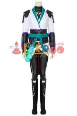 画像2: ヴァロラント VALORANT サガ saga コスプレ衣装 コスチューム ゲーム cosplay (2)
