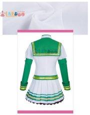 画像4: ウマ娘 プリティーダービー サイレンススズカ 勝負服 コスプレ衣装  コスチューム cosplay (4)