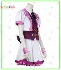 画像4: ウマ娘 プリティーダービー スペシャルウィーク 勝負服 コスプレ衣装  コスチューム cosplay (4)
