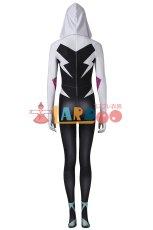 画像5: スパイダーマン: スパイダーバース Spider-Man: Into the Spider-Verse グウェン ステイシー ジャンプスーツ コスプレ衣装  コスチューム ハロウィン cosplay (5)