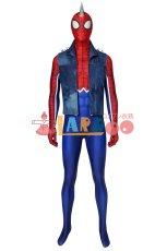 画像2: PS4 スパイダーマン スパイダー・パンク・スーツ Marvel's Spider-Man Spider-Punk Suit ジャンプスーツ コスプレ衣装  映画 コスチューム ハロウィン cosplay (2)