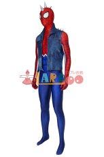 画像3: PS4 スパイダーマン スパイダー・パンク・スーツ Marvel's Spider-Man Spider-Punk Suit ジャンプスーツ コスプレ衣装  映画 コスチューム ハロウィン cosplay (3)