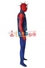 画像4: PS4 スパイダーマン スパイダー・パンク・スーツ Marvel's Spider-Man Spider-Punk Suit ジャンプスーツ コスプレ衣装  映画 コスチューム ハロウィン cosplay (4)