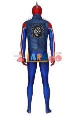 画像5: PS4 スパイダーマン スパイダー・パンク・スーツ Marvel's Spider-Man Spider-Punk Suit ジャンプスーツ コスプレ衣装  映画 コスチューム ハロウィン cosplay (5)