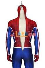 画像8: PS4 スパイダーマン スパイダー・パンク・スーツ Marvel's Spider-Man Spider-Punk Suit ジャンプスーツ コスプレ衣装  映画 コスチューム ハロウィン cosplay (8)