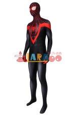 画像3: アルティメット・スパイダーマン マイルス・モラレス Ultimate Spider-Man Miles Morales ジャンプスーツ コスプレ衣装 映画 コスチューム ハロウィン cosplay (3)