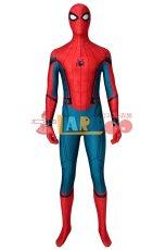 画像2: シビル・ウォー/キャプテン・アメリカ スパイダーマン ピーター・パーカー Spider-Man ジャンプスーツ コスプレ衣装 ハロウィン コスチューム cosplay (2)