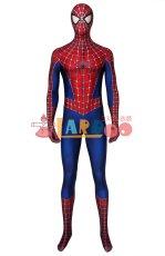 画像2: スパイダーマン トビー・マグワイア版 Tobey Maguire version コスプレ衣装  コスチューム ハロウィン cosplay (2)