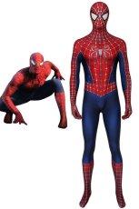 画像1: スパイダーマン トビー・マグワイア版2 Tobey Maguire version2 ジャンプスーツ コスプレ衣装  コスチューム ハロウィン cosplay (1)