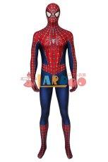 画像2: スパイダーマン トビー・マグワイア版2 Tobey Maguire version2 ジャンプスーツ コスプレ衣装  コスチューム ハロウィン cosplay (2)