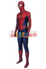 画像3: スパイダーマン トビー・マグワイア版2 Tobey Maguire version2 ジャンプスーツ コスプレ衣装  コスチューム ハロウィン cosplay (3)