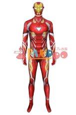 画像3: アベンジャーズ3&4 アイアンマン トニースターク ナノコンバットスーツ ジャンプスーツ コスプレ衣装  コスチューム cosplay (3)