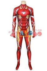 画像4: アベンジャーズ3&4 アイアンマン トニースターク ナノコンバットスーツ ジャンプスーツ コスプレ衣装  コスチューム cosplay (4)