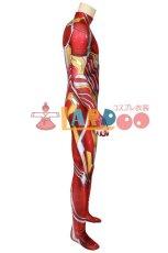 画像6: アベンジャーズ3&4 アイアンマン トニースターク ナノコンバットスーツ ジャンプスーツ コスプレ衣装  コスチューム cosplay (6)