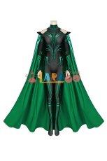 画像2: マイティ・ソー バトルロイヤル ヘラ THOR 3 Ragnarok Trailer Hela ジャンプスーツ コスプレ衣装  コスチューム cosplay (2)