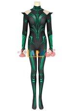 画像6: マイティ・ソー バトルロイヤル ヘラ THOR 3 Ragnarok Trailer Hela ジャンプスーツ コスプレ衣装  コスチューム cosplay (6)