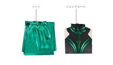 画像9: マイティ・ソー バトルロイヤル ヘラ THOR 3 Ragnarok Trailer Hela ジャンプスーツ コスプレ衣装  コスチューム cosplay (9)