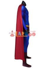 画像4: スーパーマン リターンズ クラーク・ケント/スーパーマン Superman Returns Superman Clark Kent ジャンプスーツコスプレ衣装 コスチューム cosplay (4)