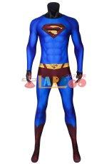 画像6: スーパーマン リターンズ クラーク・ケント/スーパーマン Superman Returns Superman Clark Kent ジャンプスーツコスプレ衣装 コスチューム cosplay (6)