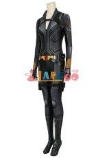 画像2: ブラック・ウィドウ ナターシャ・ロマノフ Black Widow Natasha Romanoff Black suit ジャンプスーツ コスプレ衣装  コスチューム cosplay (2)