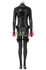 画像4: ブラック・ウィドウ ナターシャ・ロマノフ Black Widow Natasha Romanoff Black suit ジャンプスーツ コスプレ衣装  コスチューム cosplay (4)