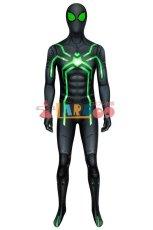画像2: PS4 スパイダーマン ステルス・スーツ(ビッグタイム版) spider man PS4 Stealth Big Time suit ジャンプスーツ コスプレ衣装  コスチューム cosplay (2)