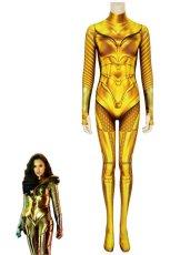 画像1: ワンダーウーマン 1984 ダイアナ・プリンス ゴールドアーマー Wonder Woman 1984 WW84 Diana Prince GOLDEN ARMOR ジャンプスーツ コスプレ衣装  コスチューム cosplay (1)