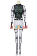 画像2: ブラック・ウィドウ エレーナ・ベロワ/ブラック・ウィドウ Black Widow The Movie Yelena Belova ジャンプスーツ コスプレ衣装  コスチューム cosplay (2)
