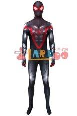 画像2: スパイダーマン マイルス・モラレス Spider-Man Miles Morales ジャンプスーツ コスプレ衣装  コスチューム cosplay (2)