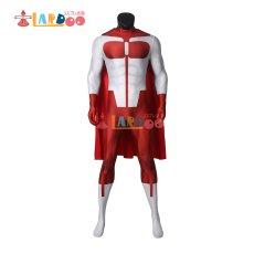画像2: インヴィンシブル Invincible  オムニマン ノーラン・グレイソン Omni-Man 無敵のヒーロー   ジャンプスーツ コスプレ衣装 コスチューム コスプレ衣装 (2)