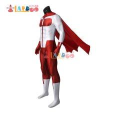 画像4: インヴィンシブル Invincible  オムニマン ノーラン・グレイソン Omni-Man 無敵のヒーロー   ジャンプスーツ コスプレ衣装 コスチューム コスプレ衣装 (4)