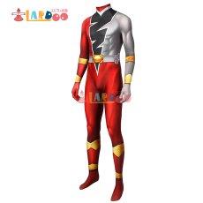 画像3: 騎士竜戦隊リュウソウジャー  勇猛の騎士 リュウソウレッド   ジャンプスーツ コスプレ衣装 コスチューム コスプレ衣装 (3)