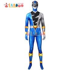 画像2: 騎士竜戦隊リュウソウジャー  叡智の騎士 リュウソウブルー   ジャンプスーツ コスプレ衣装 コスチューム コスプレ衣装 (2)