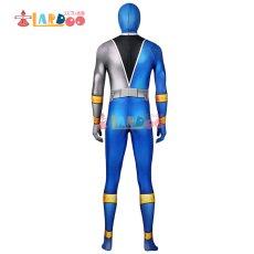 画像5: 騎士竜戦隊リュウソウジャー  叡智の騎士 リュウソウブルー   ジャンプスーツ コスプレ衣装 コスチューム コスプレ衣装 (5)
