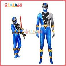 画像1: 騎士竜戦隊リュウソウジャー  叡智の騎士 リュウソウブルー   ジャンプスーツ コスプレ衣装 コスチューム コスプレ衣装 (1)