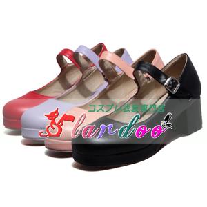 画像1: ロリータ靴 LOLITA コスプレ靴  アニメ コスプレ コスチューム ゲーム cosplay (1)