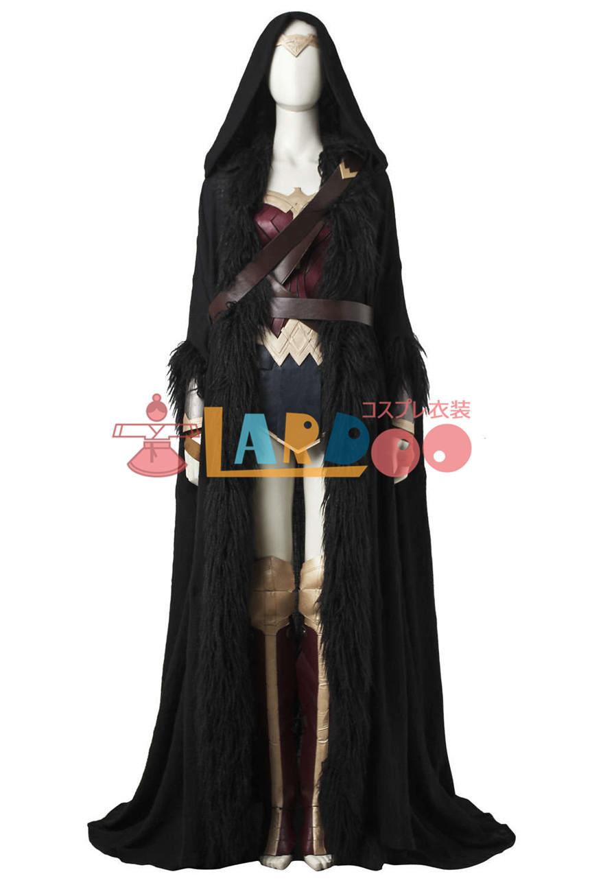 画像1: ワンダーウーマン Wonder Woman ダイアナ プリンス DC マントのみ コスプレ衣装 (1)