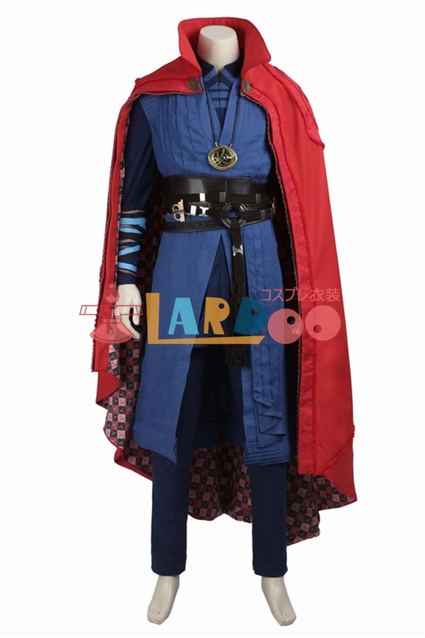 画像1: ドクター ストレンジ Doctor Strange Dr. Strange ブーツ付き コスプレ衣装 アニメ コスプレ コスチューム ゲーム cosplay (1)