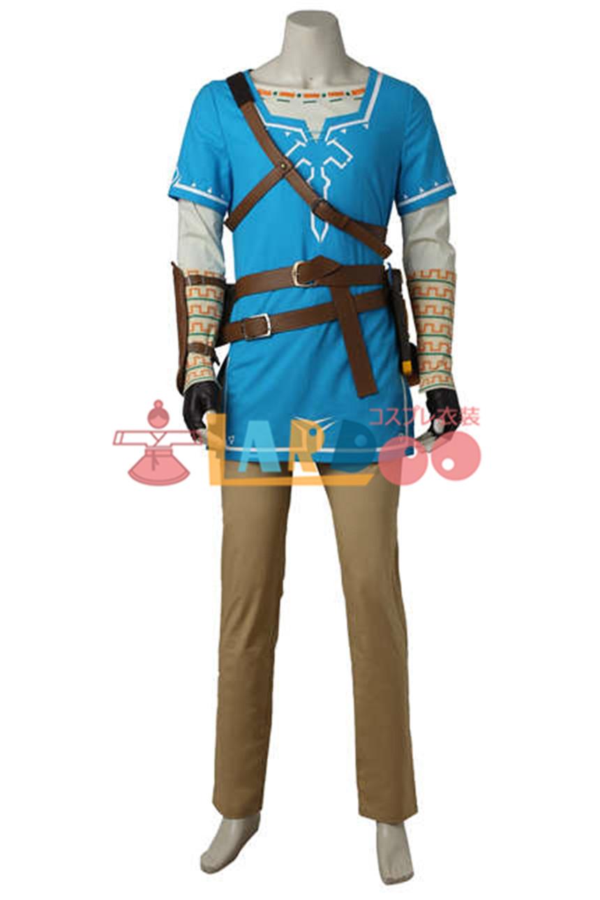 画像1: ゼルダの伝説 ブレス オブ ザ ワイルド The Legend of Zelda Breath of the Wild ブーツ付き コスプレ衣装 アニメ コスプレ コスチューム ゲーム cosplay (1)